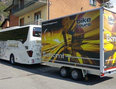 Carrello porta biciclette