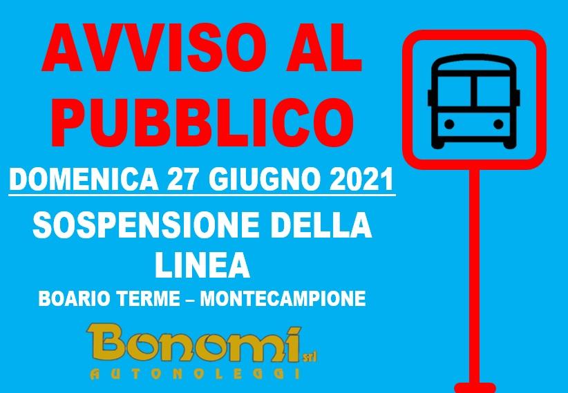 Sospensione linea Montecampione GIUGNO 2021 1